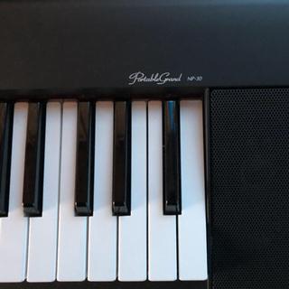 ヤマハ(ヤマハ)のヤマハ 電子キーボード NP-30 美品(電子ピアノ)