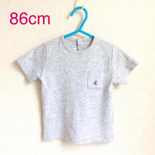 プチバトー(PETIT BATEAU)のプチバトー 86cm Tシャツ (b80-25)(Tシャツ)