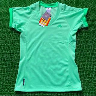 adidas - レディーステニスウエア 半袖クルーネックTシャツ Mサイズ