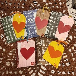 5セット ハンドメイドメッセージカード 封筒(カード/レター/ラッピング)