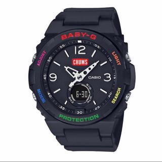 ベビージー(Baby-G)のCASIO BABY-G×CHUMS コラボモデル BGA-260CH-1AJR(腕時計)