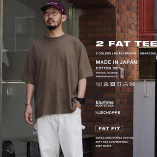 COMOLI - blurhms × L'ECHOPPE 2 PACK FAT TEE  Tシャツ