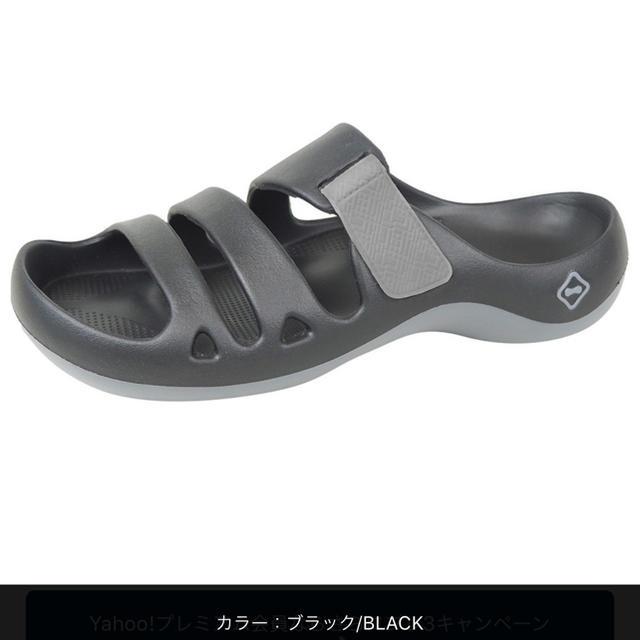 Regetta Canoe(リゲッタカヌー)のリゲッタカヌー アクアカヌー  ブラック 25.5 メンズの靴/シューズ(サンダル)の商品写真