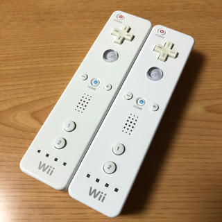 Wii - 任天堂Wiiリモコン ホワイト 2本セット