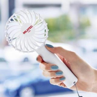 ミルクフェド(MILKFED.)のSPRiNG スプリング 2019年 7月 付録  MILKFED. ミニ扇風機(扇風機)