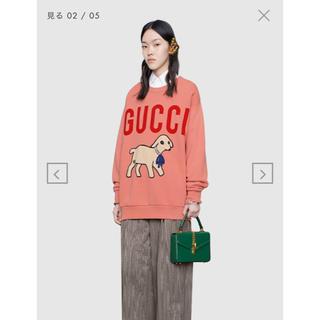 グッチ(Gucci)の☆GUCCI スウェット  プルオーバー  羊 S(トレーナー/スウェット)