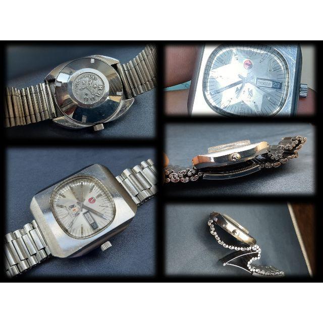 RADO(ラドー)の自動巻腕時計男性用 中古RADO MUSKTEER V スターカットガラス メンズの時計(腕時計(アナログ))の商品写真