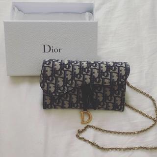 ディオール(Dior)のDior chain wallet(ショルダーバッグ)