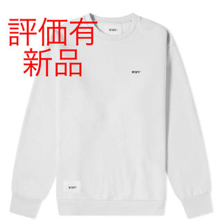 W)taps - wtaps blank crew sweat L