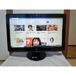 フジツウ(富士通)の富士通・液晶一体型テレビ付きPC・Core i5・1TB・カメラ・無線LAN内蔵(デスクトップ型PC)