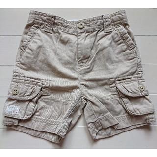 ポロラルフローレン(POLO RALPH LAUREN)のポロラルフローレン●半ズボン ベージュ 90サイズ●美品(パンツ/スパッツ)