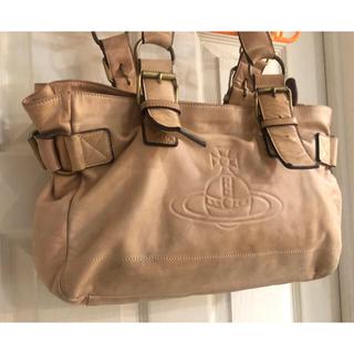 ヴィヴィアンウエストウッド(Vivienne Westwood)の◆ヴィヴィアンウエストウッドのオーブロゴが入る本革鞄◆(ハンドバッグ)