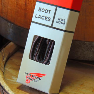 REDWING - REDWING米国製タスランブーツレース靴紐ブラック/ブラウン48インチ