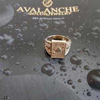 AVALANCHE - アヴァランチ 10k YG トランプリング 指輪 アバランチ k10 10金