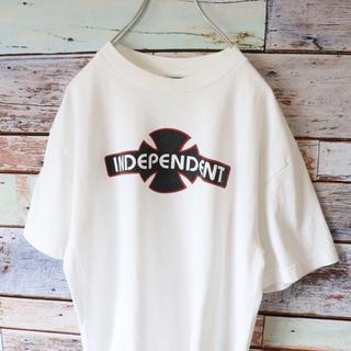 インディペンデント(INDEPENDENT)のINDEPENDENTインデペンデント メキシコ製 Tシャツ ホワイト M(Tシャツ/カットソー(半袖/袖なし))