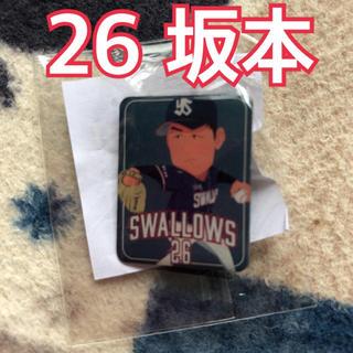 トウキョウヤクルトスワローズ(東京ヤクルトスワローズ)の東京ヤクルトスワローズ 坂本光士郎 2020 ピンバッジ(スポーツ選手)