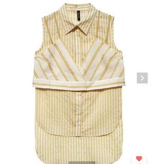 新品AULA(AULA AILA) レイヤード スリーブレスシャツ