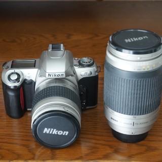 ニコン(Nikon)のAFニッコール28-80G+70-300G+ニコンU(レンズ(ズーム))