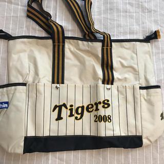 ハンシンタイガース(阪神タイガース)の阪神トートバック 応援ペットボトルポケット付き(バッグ)