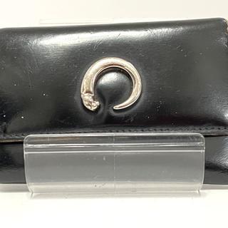 カルティエ(Cartier)のカルティエ キーケース パンテール 黒(キーケース)