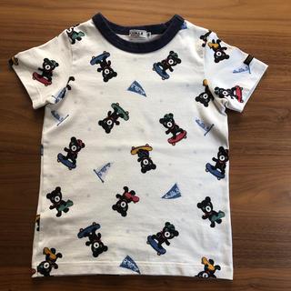 DOUBLE.B - 【ダブルB】総柄プリントの半袖Tシャツ120