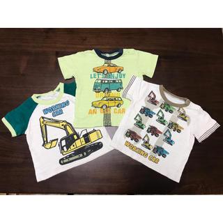 ブランシェス(Branshes)の【連休セール】働く車 セット まとめ売り 80(Tシャツ)
