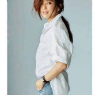 マディソンブルー(MADISONBLUE)のマディソンブルー⭐︎Madison blue J Bradley shirt 白(シャツ/ブラウス(長袖/七分))