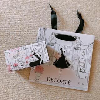 コスメデコルテ(COSME DECORTE)の未使用 コスメデコルテ ケリー ヘス 限定 紙袋 (ショップ袋)