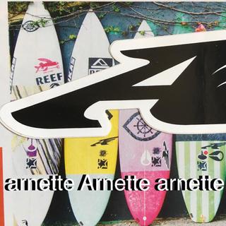 アーネット(Arnette)のarnetteアーネットUS限定型抜きウイングアイコンステッカー(サーフィン)