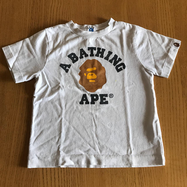 A BATHING APE(アベイシングエイプ)のTシャツ  110  100   なかぴ様 キッズ/ベビー/マタニティのキッズ服男の子用(90cm~)(Tシャツ/カットソー)の商品写真