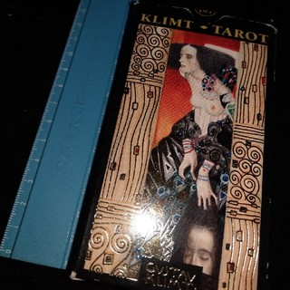 The Golden Tarot of Klimt UK(洋書)