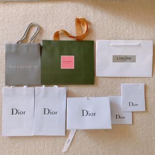 ディオール(Dior)のケイトスペード スタージュエリー ランコム Dior ショップバッグ(ショップ袋)