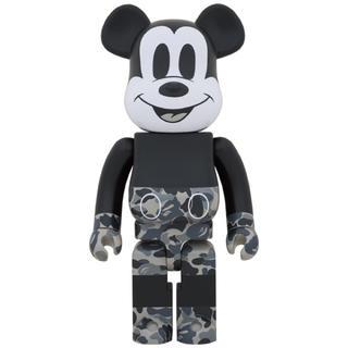 メディコムトイ(MEDICOM TOY)のBE@R BRICK bape Micky Mouse 1000%(模型/プラモデル)
