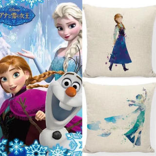 Disney - 【2枚セット】ディズニー アナと雪の女王 クッションカバー