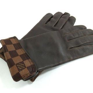 ルイヴィトン(LOUIS VUITTON)のルイヴィトン 手袋 ダミエ 23cm 8 メンズ(手袋)