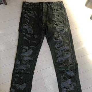 Siberia Hills spiritual jeans 34 訳あり(デニム/ジーンズ)