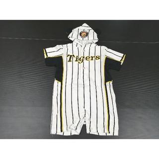 ハンシンタイガース(阪神タイガース)の阪神タイガース ロンパース 子供服 Tigers プロ野球◯2640 石(応援グッズ)