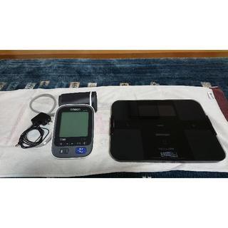 オムロン(OMRON)のオムロン 体組成計・血圧計ペア(エクササイズ用品)