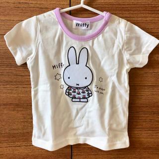 シマムラ(しまむら)の新品タグ付 バースデイ ミッフィー 半袖Tシャツ 90 綿100%(Tシャツ)