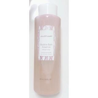 ジルスチュアート(JILLSTUART)の店頭¥3,080 新品未使用 バブルバスエッセンス ホワイトフローラル(入浴剤/バスソルト)