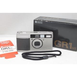 リコー(RICOH)の★希少な箱付き★ リコー GR1 28mm F2.8(フィルムカメラ)