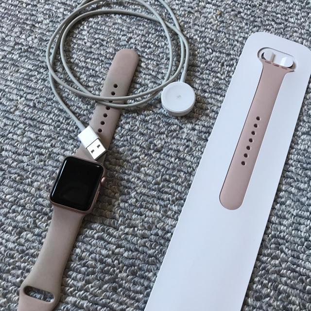 Apple Watch(アップルウォッチ)のApple Watch series3 38mm GPSモデル 廃盤色 本体 メンズの時計(腕時計(デジタル))の商品写真