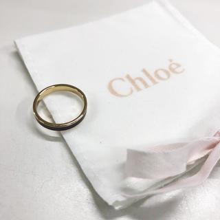 クロエ(Chloe)のクロエ アクセサリー Chloe 指輪 約10号 ゴールド パープル(リング(指輪))