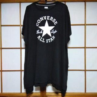 コンバース(CONVERSE)の美品 CONVERSE コンバース Tシャツ ワンピース(ひざ丈ワンピース)