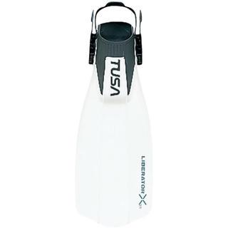 ツサ(TUSA)のTUSA SF-5000 (W) ダイビングフィン レギュラーサイズ ホワイト(マリン/スイミング)
