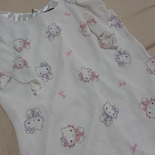 レディー(Rady)のRady キティちゃん トップス 未使用(シャツ/ブラウス(半袖/袖なし))