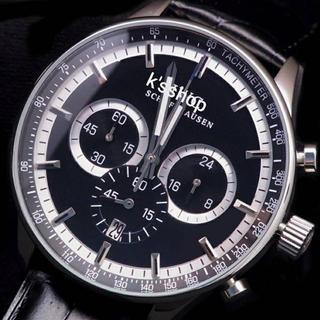 インターナショナルウォッチカンパニー(IWC)のインターナショナル ポルトギーゼタイプ ブラック&ブラック クォーツ(腕時計(アナログ))