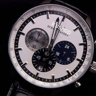 インターナショナルウォッチカンパニー(IWC)のインターナショナル ポルトギーゼタイプ ホワイト&ブラック クォーツ(腕時計(アナログ))