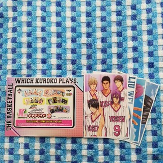 バンプレスト(BANPRESTO)の黒子のバスケ 一番くじ K賞 キャラマイド(カード)