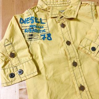 ディーゼル(DIESEL)のDIESEL ベビー シャツ 正規3M (シャツ/カットソー)